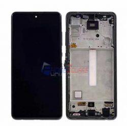 หน้าจอ Samsung Galaxy - A52 (4G / 5G) +กรอบ // หน้าจอพร้อมทัสกรีน