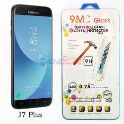 ฟิลม์กันแตก - Samsung J7 Plus