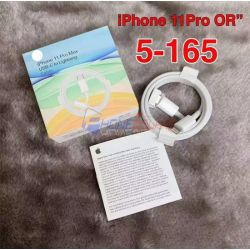 สาย USB iPhone - 11ProMax OR(5-165)